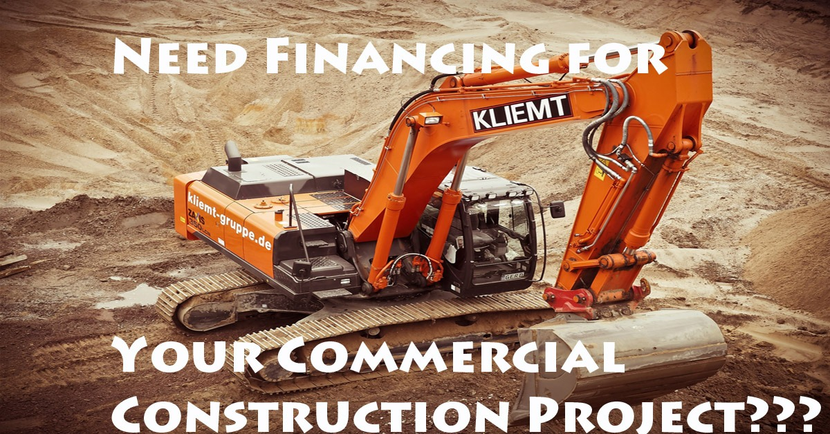 Finding lenders for commercial construction projects for Financing construction projects